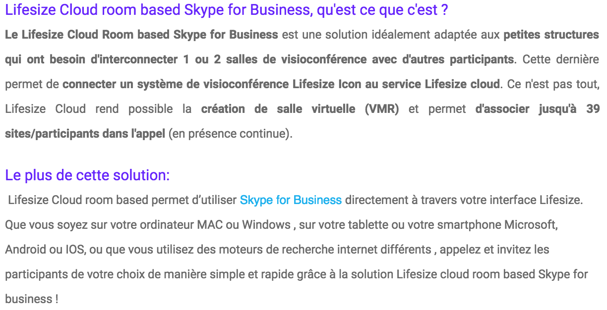 ROOM BASED SKYPE FOR BUSINESS